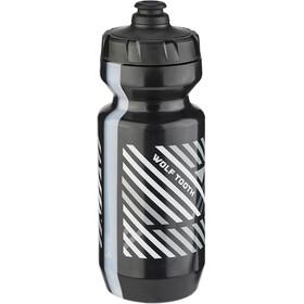 Wolf Tooth Grid Water Bottle, black